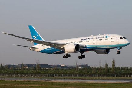 Xiamen Airlines launches Xiamen-Los Angeles non-stop service