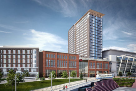 Investor Yareton and Interstate Hotels & Resorts break ground on Marriott Hotel