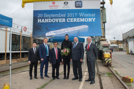 Crystal River Cruises welcomes Crystal Mahler to fleet